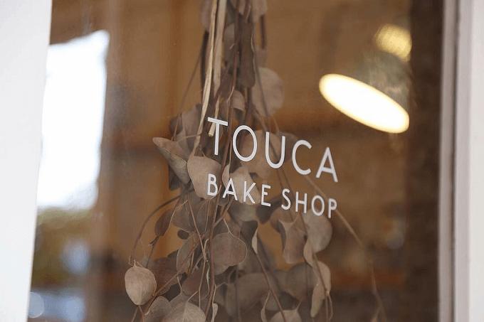 沖縄県那覇市にある「TOUCA BAKE SHOP」のロゴ