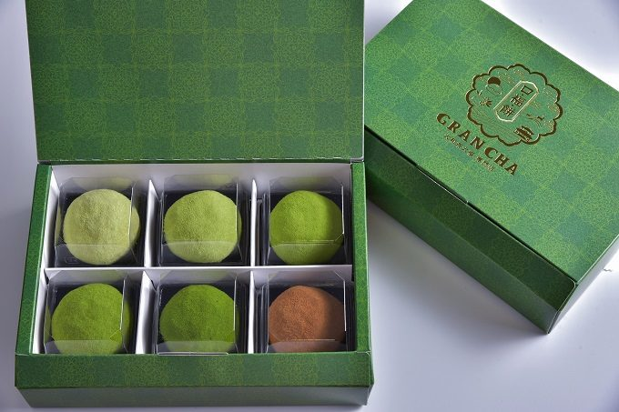 「GRAN CHA」味の濃さが違う抹茶大福5種と、ほうじ茶大福