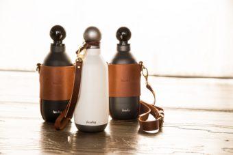 これまでにないデザイン性。保冷・保温に優れたおしゃれなマイボトル「Hashy Bottle」