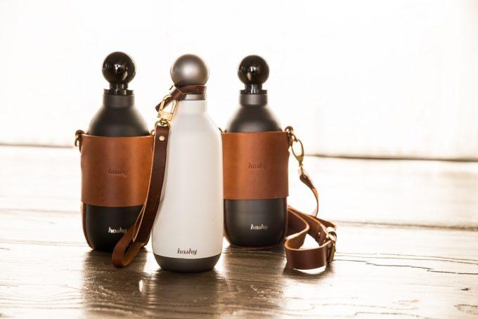 保冷・保温に優れたおしゃれなマイボトル「Hashy Bottle」1