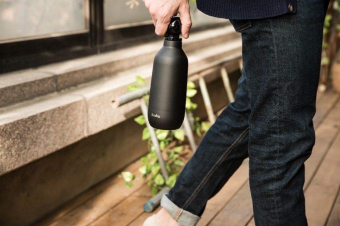 保冷・保温に優れたおしゃれなマイボトル「Hashy Bottle」3