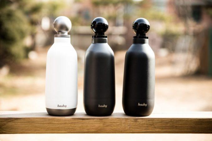 保冷・保温に優れたおしゃれなマイボトル「Hashy Bottle」2