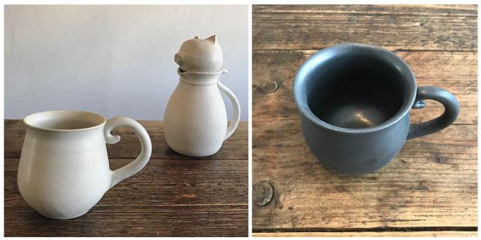 「暮縞」のマグカップ