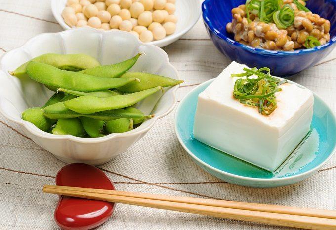 美肌&ダイエットにも役立つ食材、大豆製品と枝豆