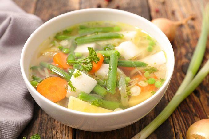 美肌&ダイエットにも役立つ食材、野菜たっぷりのスープ