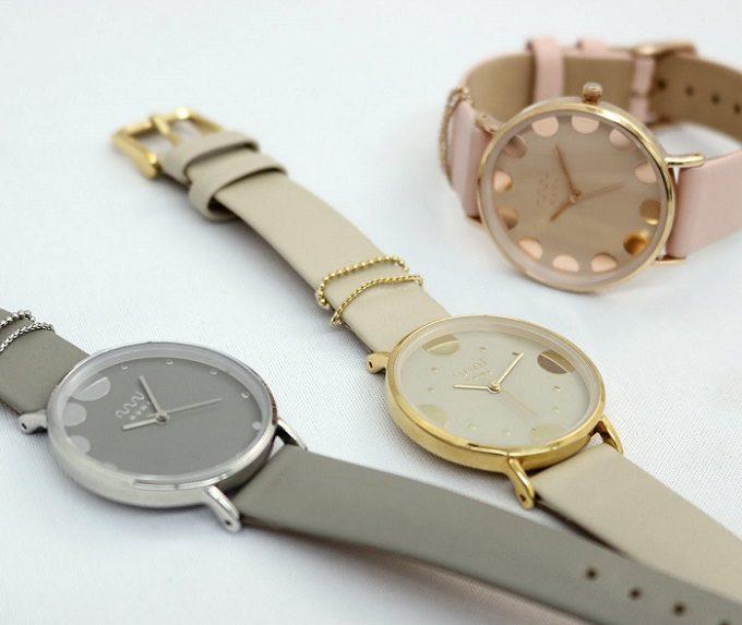 ニュアンスカラーが上品な「nuwl」の腕時計2