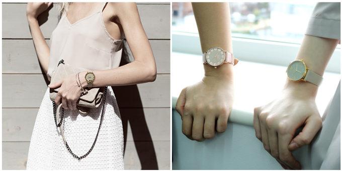 ニュアンスカラーが上品な「nuwl」の腕時計5