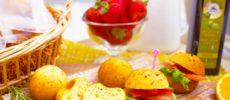 たんぱく質が主成分で低糖質・低カロリー「プロテインフォカッチャ」1