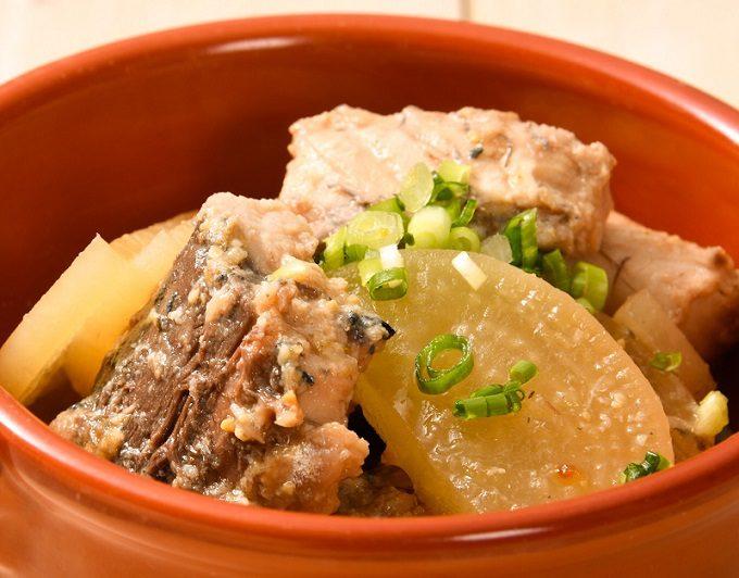 サバ缶と薄切り大根で作れる「サバ缶と大根の柚子味噌󠄀煮」のレシピ2