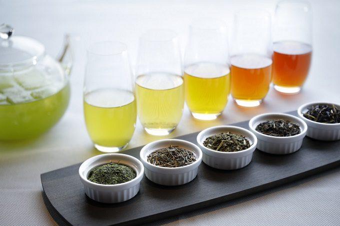 「比叡山やくばらい散歩・夏」旅 冷茶飲み比べ