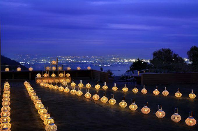 「比叡山やくばらい散歩・夏」旅 比叡山燈花会