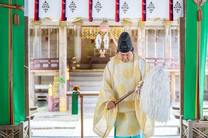 「比叡山やくばらい散歩・夏」旅 日吉大社での祈祷