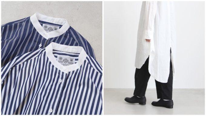 「OLDMANS TAILOR (オールドマンズテーラー)」のロングシャツ