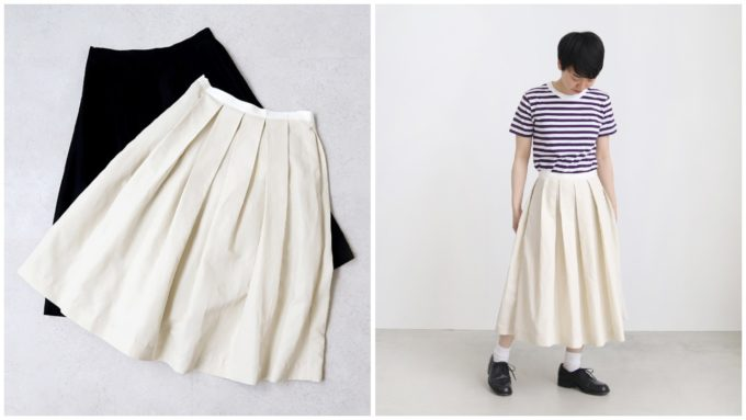 OLDMANS TAILOR(オールドマンズテーラー)のロングスカート