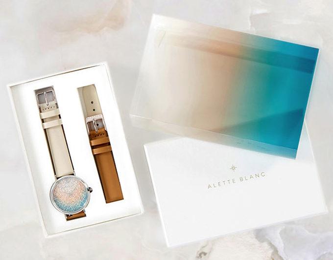 「ALETTE BLANC(アレットブラン)」の腕時計のオプション