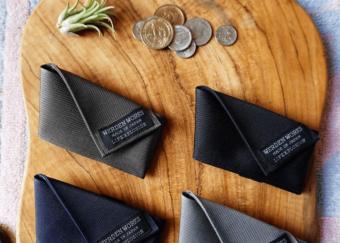 無駄のないデザインがスタイリッシュ。軽くて丈夫な「WERDENWORKS」のミニマル財布