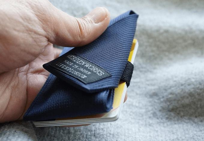 軽くて丈夫な「WERDENWORKS」のミニマル財布2