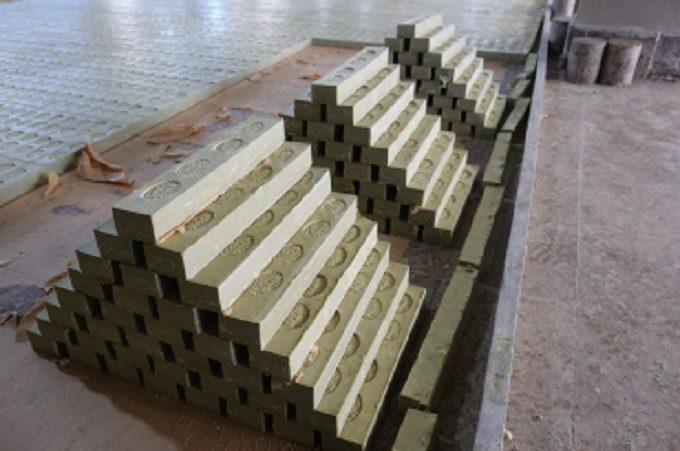 「アレッポの石鹸」の製造の様子