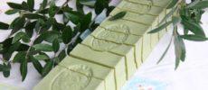 シリアで生産される「アレッポの石鹸」ロングバー1