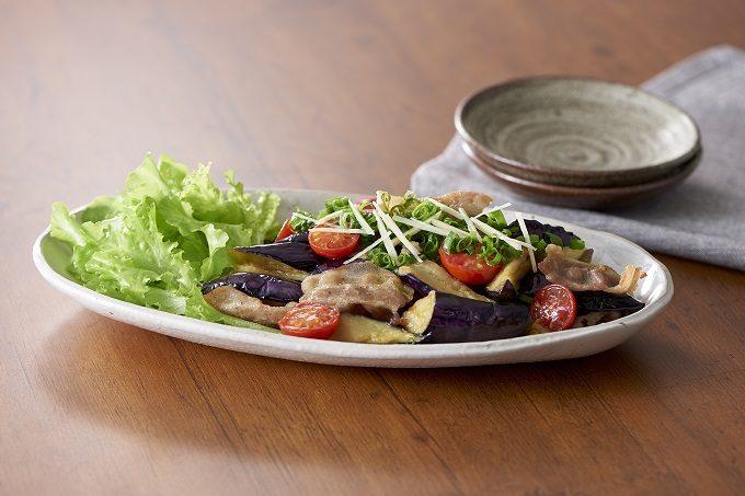 「豚肉となすのさっぱり炒め」のレシピ2