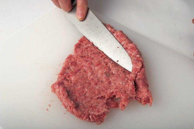 手でこねない「ハンバーグステーキ」の作り方3
