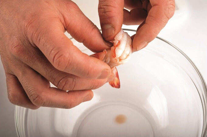 レモンドレッシングが香る「魚介のサラダ」作り方3