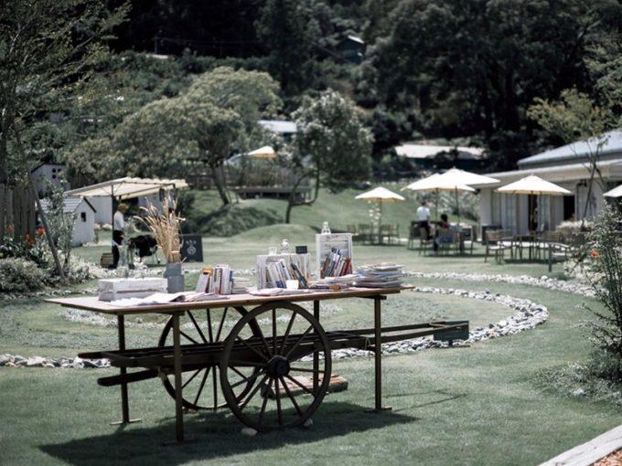 静岡県浜松市都田町の「ドロフィーズキャンパス」の中のカフェレストラン「ガーデンヒル」