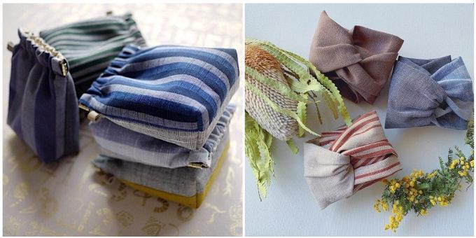 「duca -textile-」のポーチやターバン