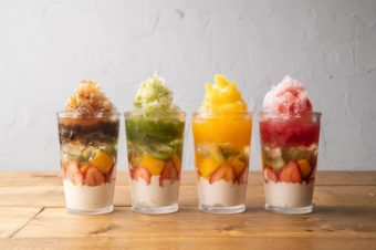 シャリッ、もちっ。次々と食感が変わる話題の「フルーツタピ氷」