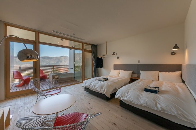 「箱根本箱」の客室