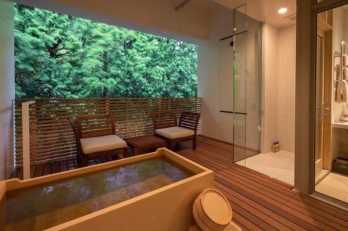全室露天風呂付のおすすめのホテル「箱根本箱」