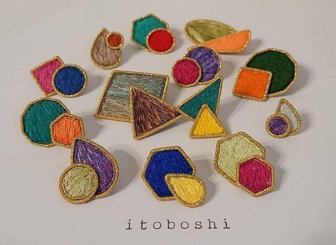 「itoboshi」のオーガンジーアクセアリー