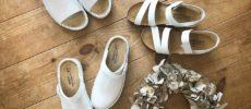 足にフィットして歩きやすさ抜群。軽快に履ける「NAOT」の白サボ&サンダル<3選>