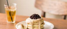 ハワイアンカフェ「hole hole cafe&diner」のタピオカパンケーキ