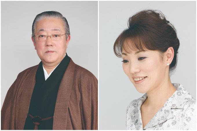 箏曲演奏家の萩岡松韻さん、華道家元の池坊専好さん