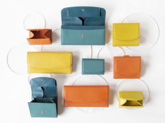 深みのある鮮やかカラー&上質なラム革が大人にぴったり。「土屋鞄製造所」のミニ財布