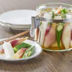 夏の常備菜におすすめ。みょうが・長いも・オクラで作る「和ピクルス」のレシピ