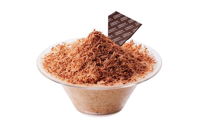 貴重なアリバカカオを使ったチョコかき氷「横浜スノーチョコレート2019」2