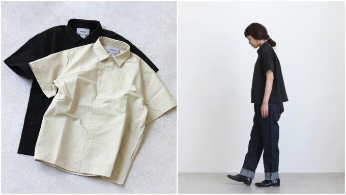 秋まで使える「YAECA ヤエカ」のおすすめの半袖シャツ