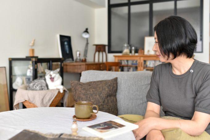 ガラス作家・松本裕子さんの愛猫4