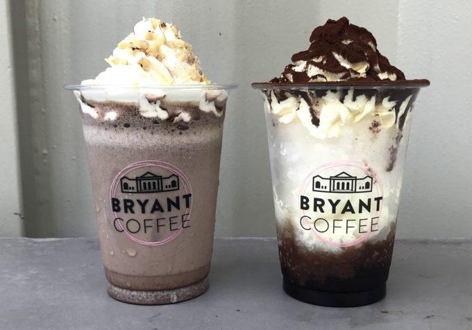 BRYANT COFFEE(ブライアントコーヒー)の日焼け止め効果が期待できるドリンクとかき氷