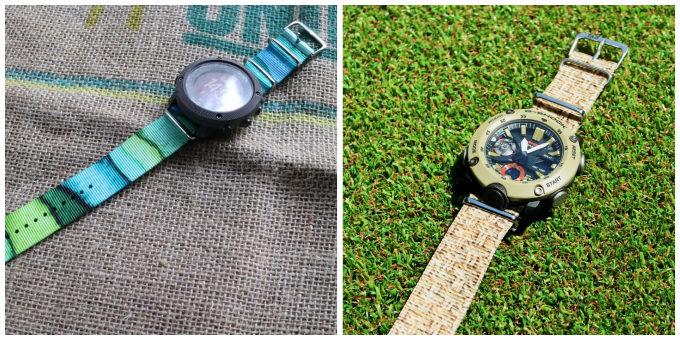 手持ちの腕時計を簡単に着せ替えられるウォッチベルト「TAD STRAP」2