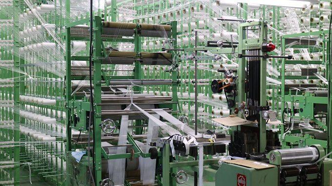 「TAD STRAP」の工場の光景