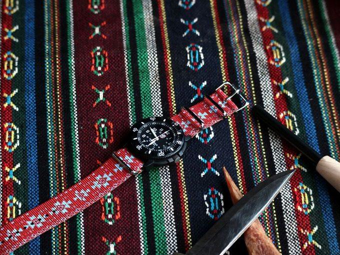 手持ちの腕時計を簡単に着せ替えられるウォッチベルト「TAD STRAP」4