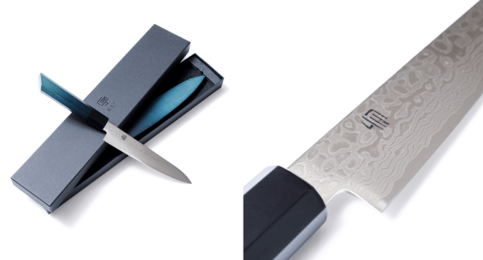 機能性とデザイン性に優れた「藍包丁」4