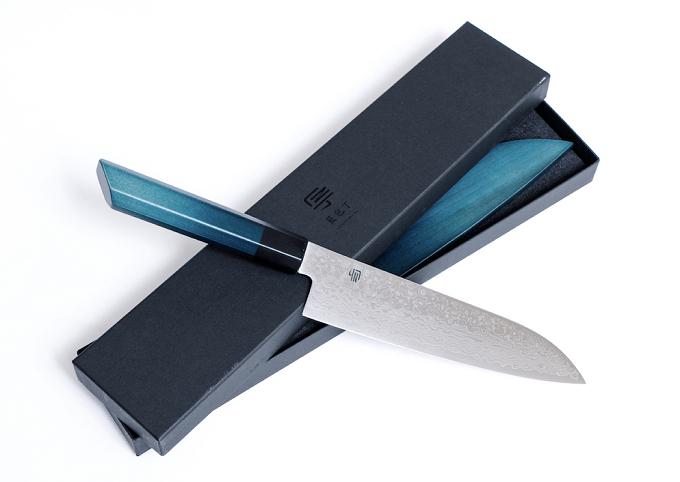 機能性とデザイン性に優れた「藍包丁」3