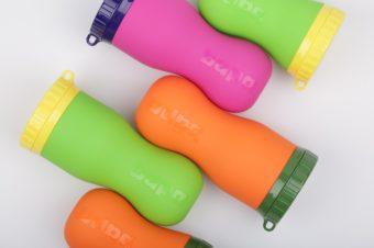 柔らかな素材で驚きの使い勝手。シリコーン製ボトル「FlipBottle Bapa」