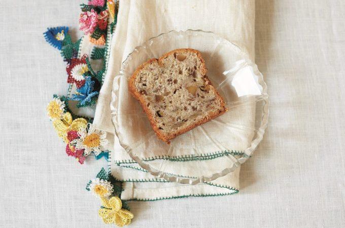 ベーキングパウダーなしで作れる「バナナとくるみのパウンドケーキ」のレシピ