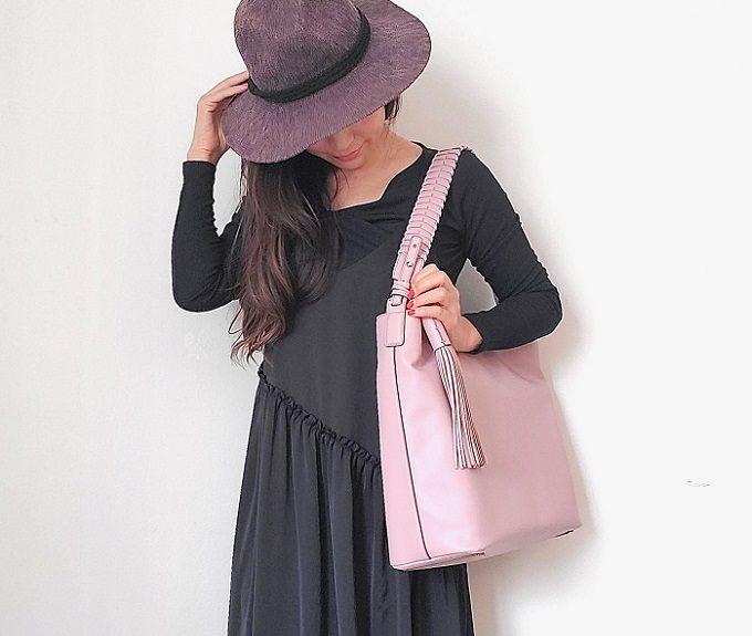 大容量で使いやすいおしゃれなトートバッグ「HANA華」2