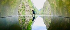 絶景とアクティビティを楽しむおすすめ穴場スポット、新潟県十日町の清津峡にあるトンネル1